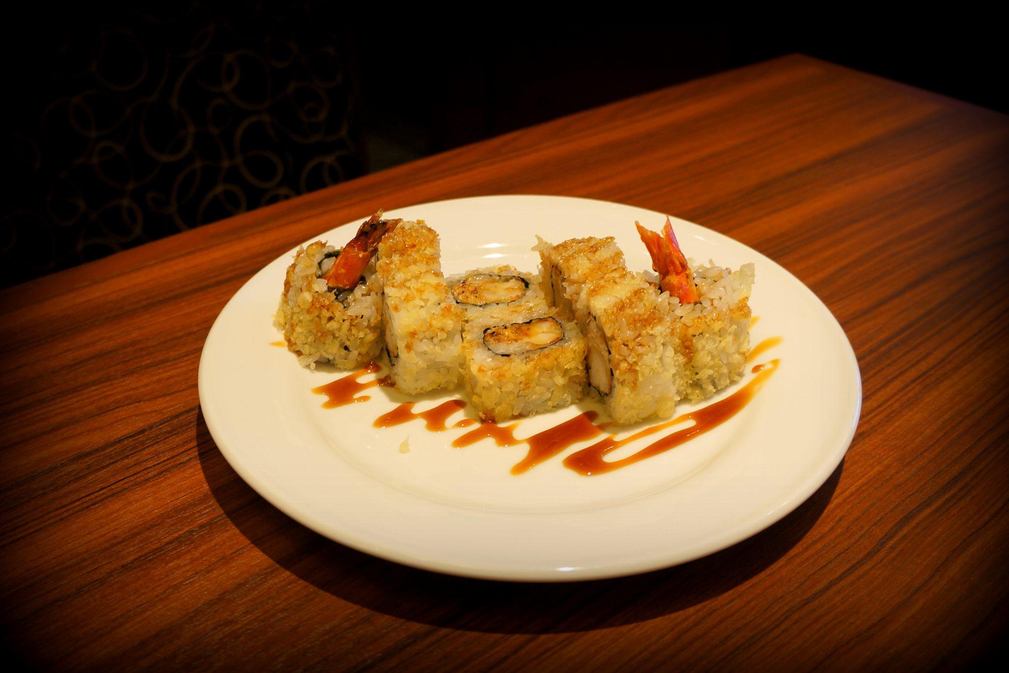 shrimp sushi amazing