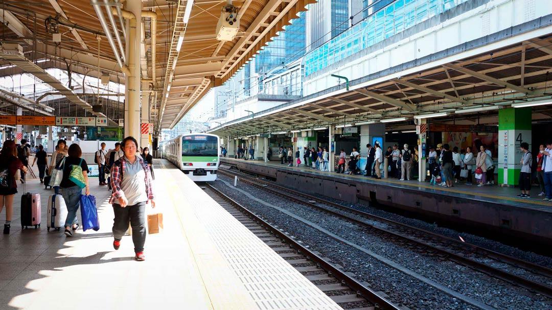 Tokio Estación Tren