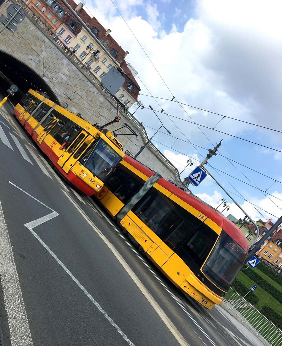 Transporte Varsovia