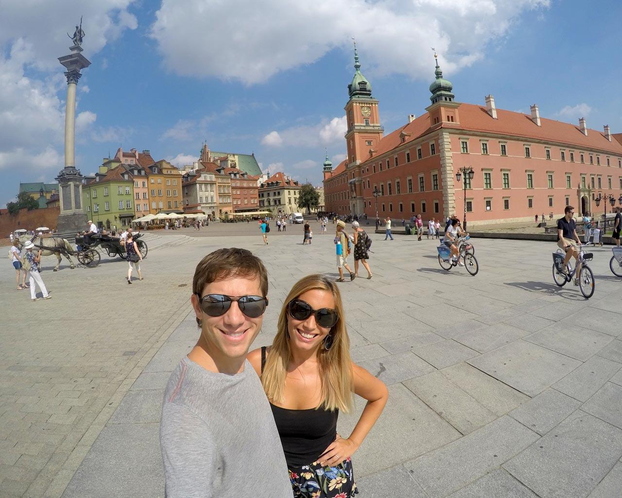 La capital de Polonia, Varsovia