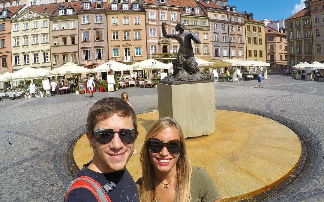 Varsovia, la capital de Polonia, Sorprendente!
