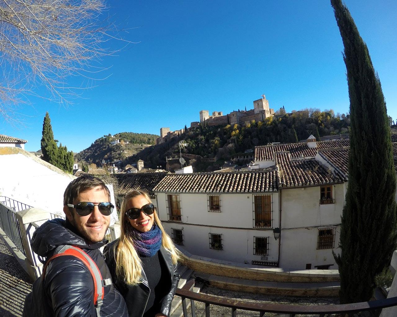 visitar el Albaicín en Granada Miradores