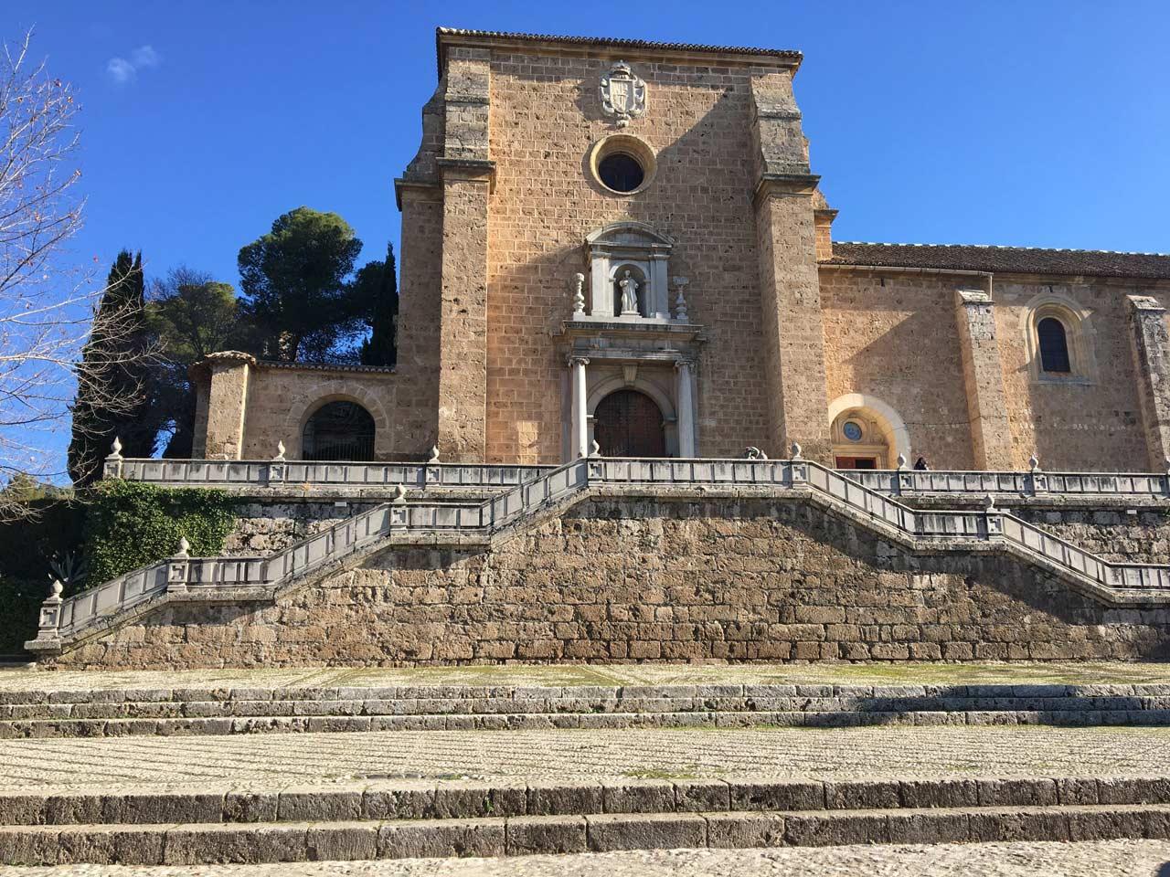 visitar en Granada Monasterio Cartuja