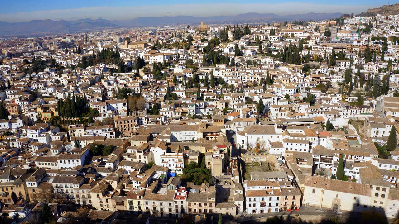 Qué visitar en Granada Vistas