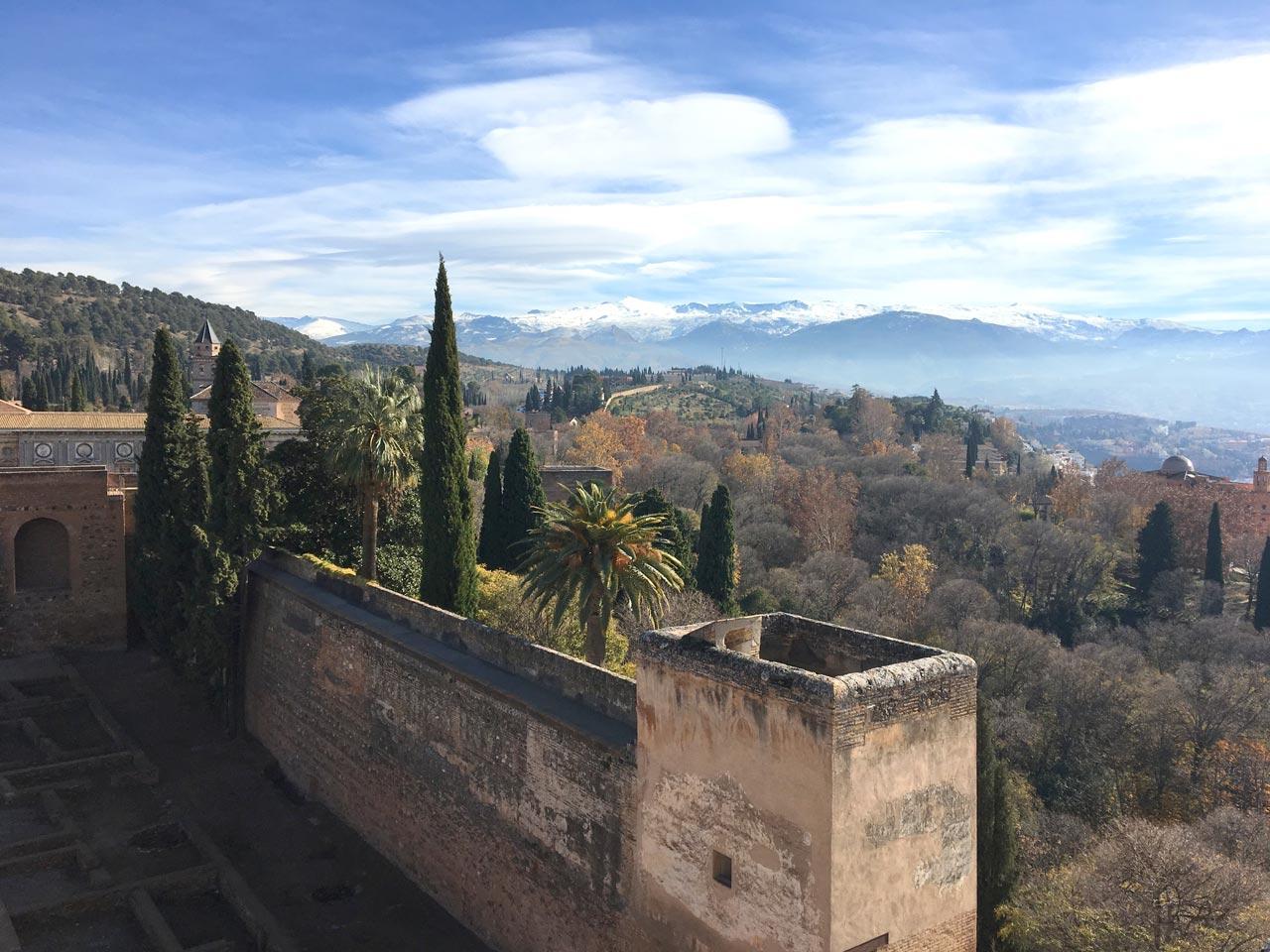 Qué visitar en Granada Alhambra Torre