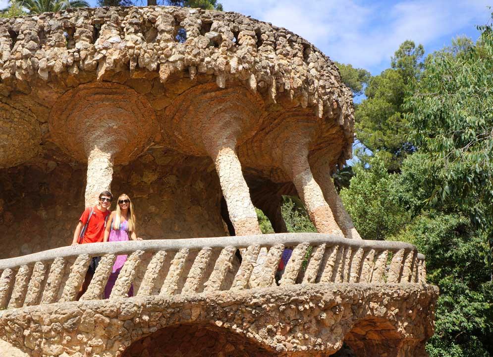qué ver en Barcelona Parque Güell