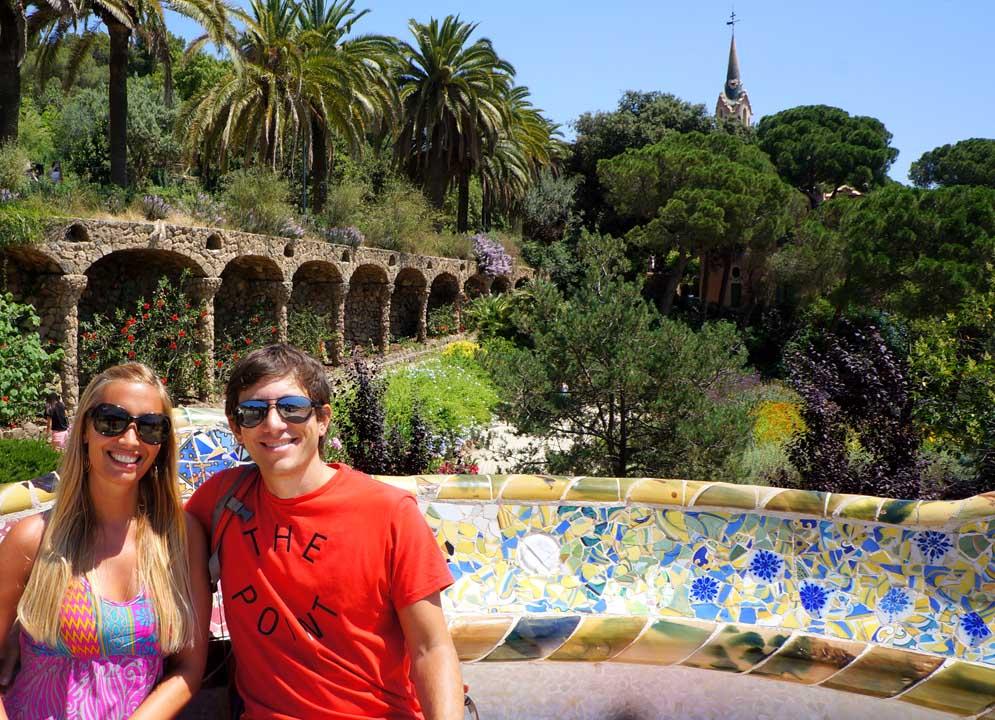 Barcelona Parque Güell Recalculando Viajes
