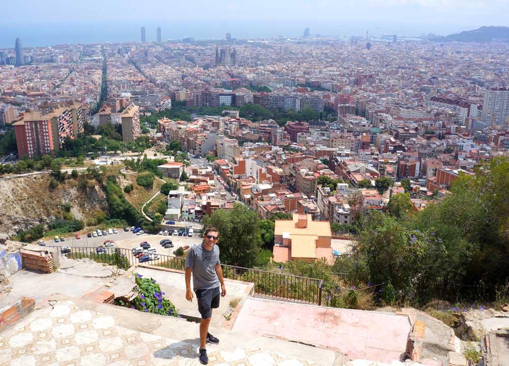 Qué hacer en barcelona en 3 días Búnkers del Carmel