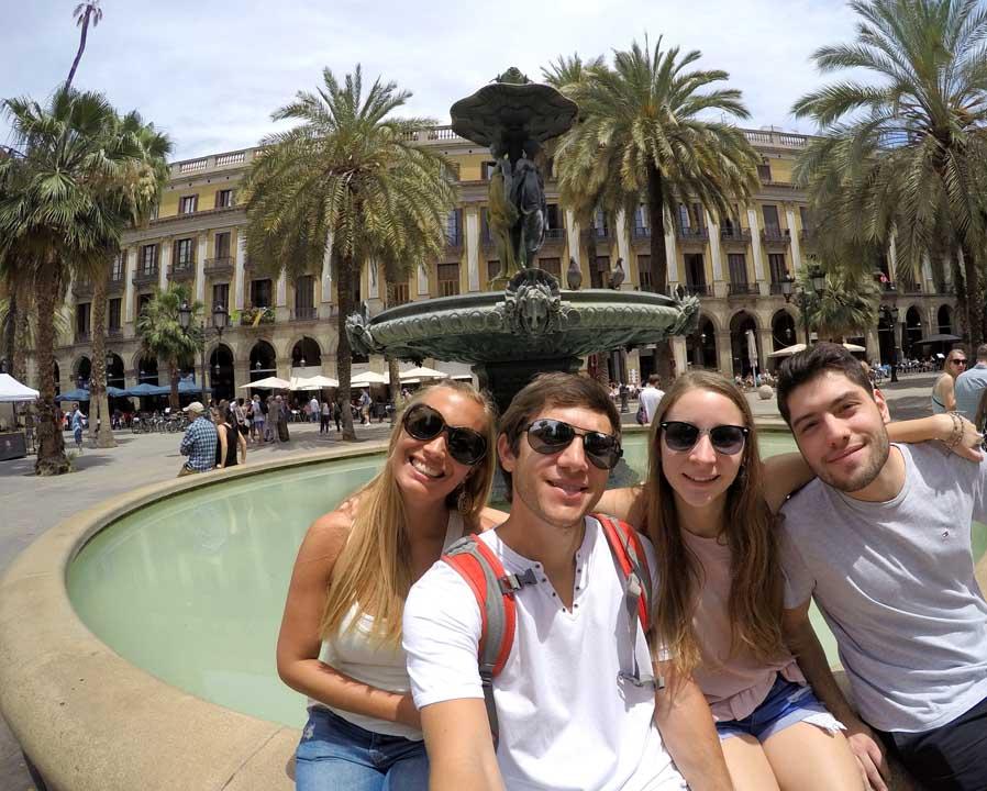 que ver en Barcelona Plaza Real