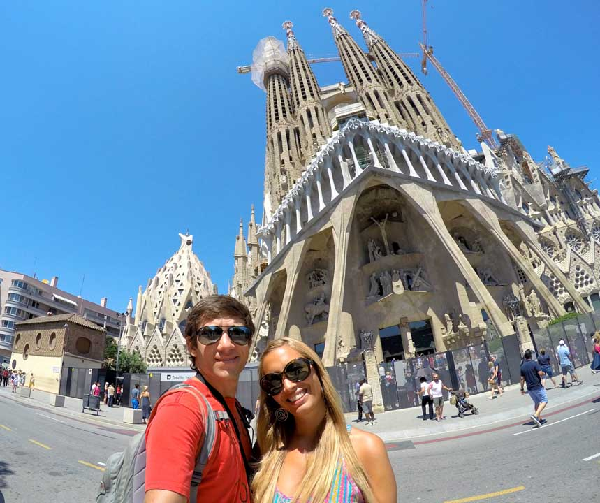 qué ver en Barcelona La Sagrada Familia
