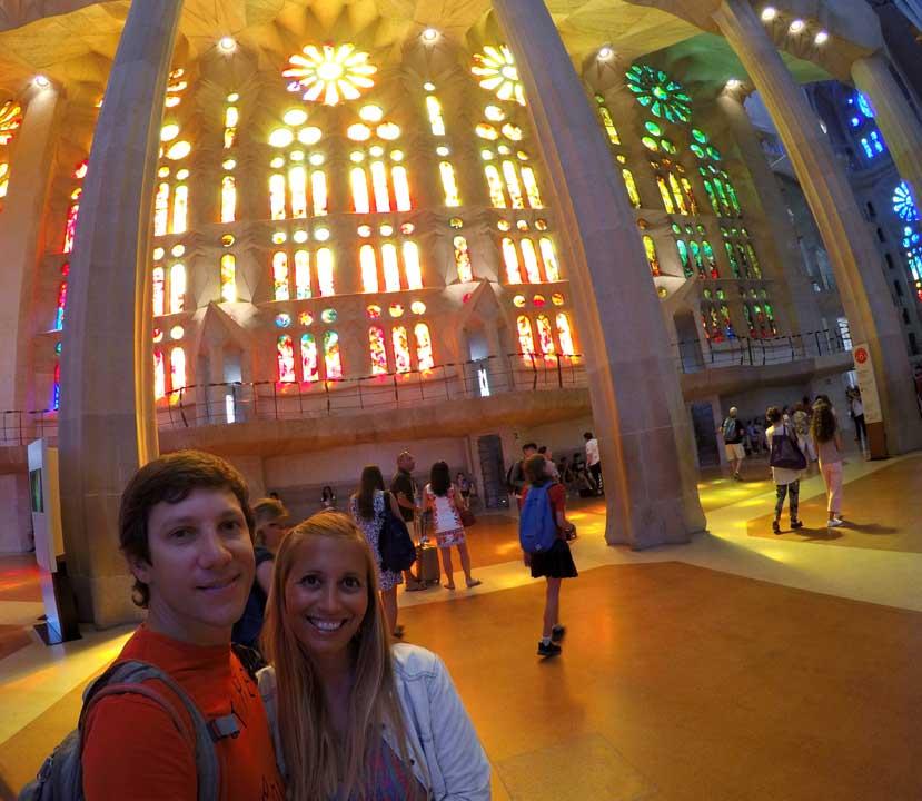 qué hacer en Barcelona La Sagrada Familia