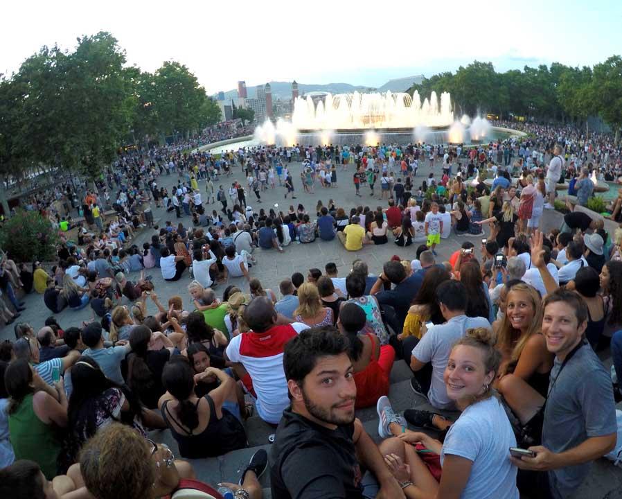 que hacer en Barcelona Fuente Mágica de Montjuic