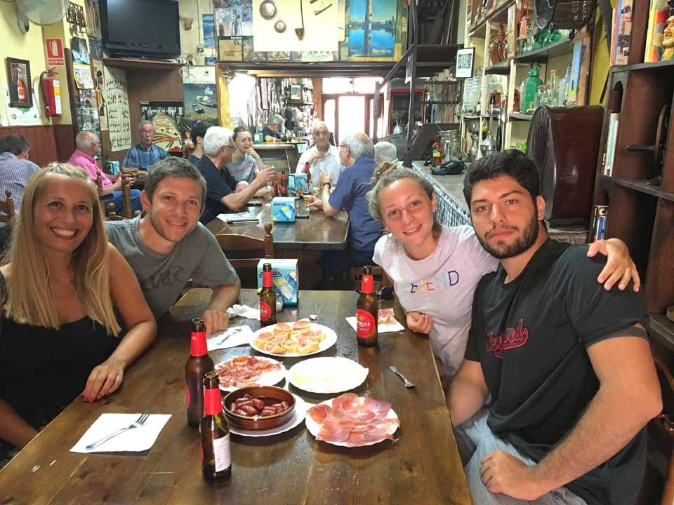 Comidas en barcelona