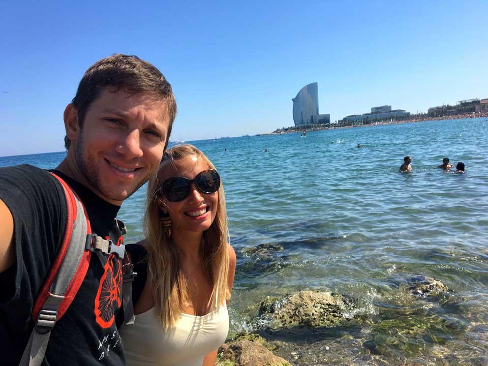 que ver en barcelona Playa de la Barceloneta