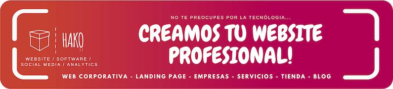 Creamos Tu Website Personalizado