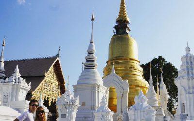 Templos en Chiang Mai Wat Suan Dok – Tailandia