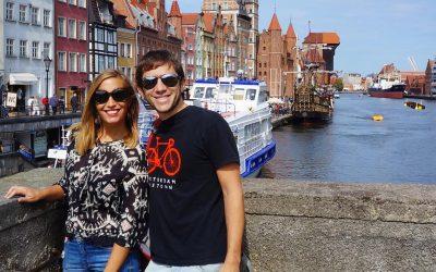 Gdansk, es una ciudad muy turística.