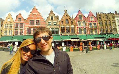 Brujas y su magia!!! Esas casitas… bello recuerdo de Bélgica