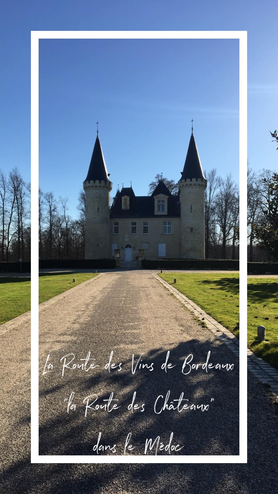 qué visitar en Francia - Burdeos castillos